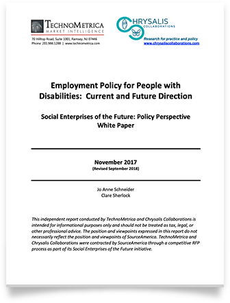 Employment Policy whitepaper