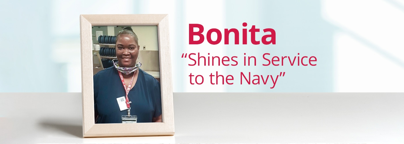 "Bonita ""Shines in Service to the Navy"""