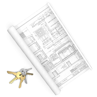 Floorplan and keys